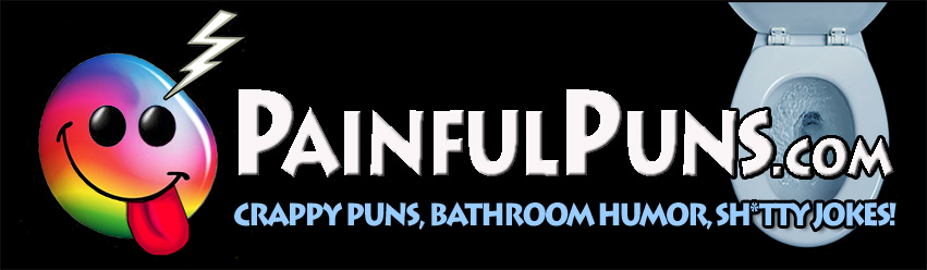 PainfulPuns.com - Crappy Puns, Bathroom Humor, Sh*itty Jokes!