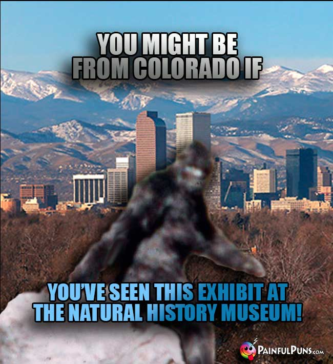 You might be from Colorado if you've seen this exhibit at the Natural History Museum!