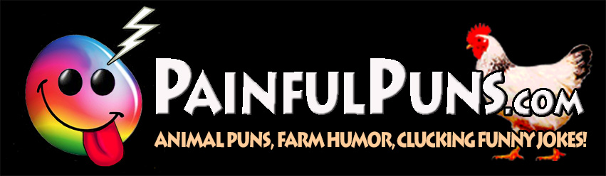 PainfulPuns.com - Animal Puns, Farm Humor, Clucking Funny Jokes!