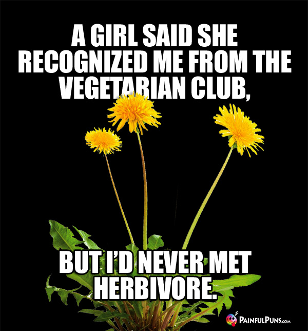 A Girl Said She Recognized Me From the Vegetarian Club, But I'd Never Met Herbivore.