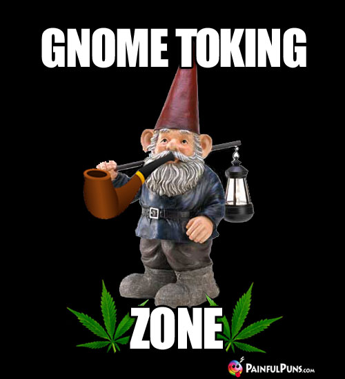 Pot Meme: Gnome Toking Zone