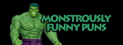 Monstrously Funny Puns