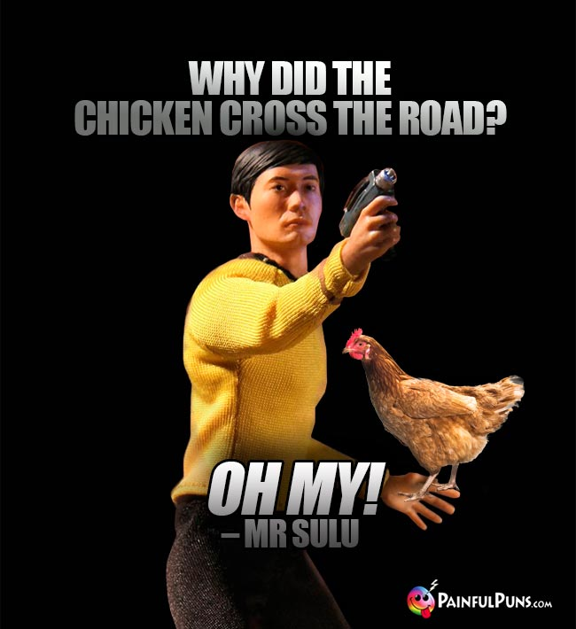 Why did the chicken cross the road? Oh My! – Mr Sulu