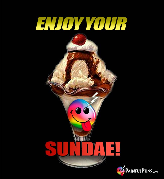 Enjoy Your Sundae!