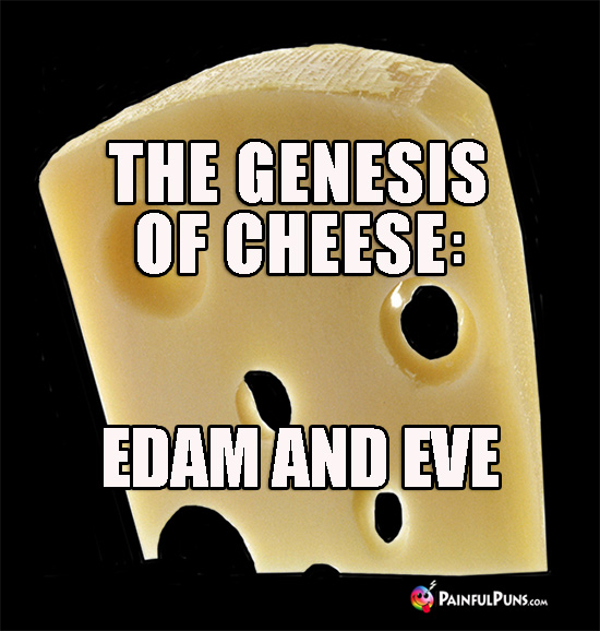 The Genesis of Cheese: Edam and Eve